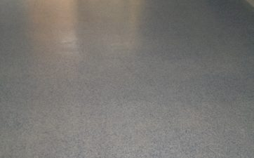 Epoxy Flake Flooring Before & After